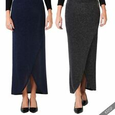 Polyester Party Patternless Maxi Skirts for Women