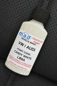 SKODA CANDY WHITE LB9A/B4 PAINT 30ML TOUCH UP KIT FABIA RAPID OCTAVIA SUPERB
