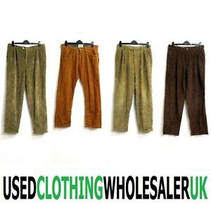 28 GRADE B MEN'S VINTAGE CORD TROUSERS PANTS WHOLESALE CLOTHING JOB LOT