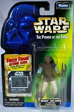 1997 RARE Kenner Star Wars POTF Freeze Frame Jabba Skiff Guard Weequay Figure
