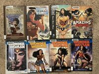 Wonder Woman Graphic Novel Lot Rebirth Vol 1 2 3 4 TPB Hardcover Batman Comics
