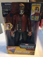 "Star Lord Action Figure Guardians of the Galaxy Vol 2 Music Mix Talking 12"" NEW"
