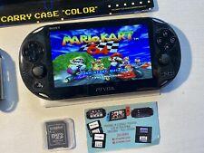 Ps Vita Pch 2004 Slim As New Henkaku 3.65 Enso 128 Giga Retrogaming Pack