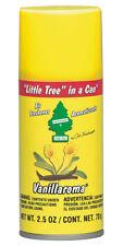 Little Tree in a CAN Car Air Freshener 2.5 oz Aerosol Spray, Vanilla Vanillaroma