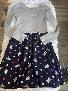 Gap Kids for Disney girls sz. 12 mickey & co. design long sleeved dress. Great