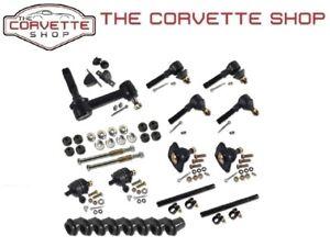 C3 Corvette Front Suspension Rebuild Kit Deluxe Bushing Ball Joint 1963-82 X2133