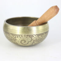 Tibetan Buddhist Singing Bowl Sound Relaxation Prayer Peace Gifts 11CM #2