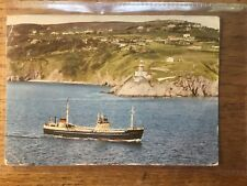 "Guiness Ship ""The Lady Grania"" Howth Co. Dublin Postcard #6591"