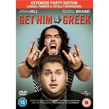 GET HIM TO THE GREEK [Extended Cut] Russell Brand*Jonah Hill 2 Disc DVD *EXC*