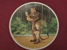 If I Were King collector plate WlZard Of Oz Lion James Auckland