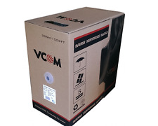 VCOM UTP CAT5e Ethernet Lan Network Cable NC514-305M