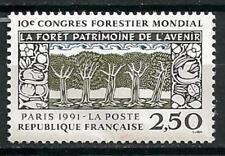France 1991 Congrès forestier Yvert n° 2725 neuf ** 1er choix