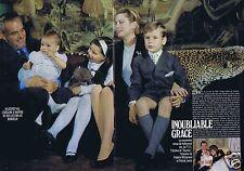 Coupure de presse Clipping 1988 Princesse Grace de Monaco  (6 pages)
