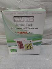 New listing Waring Pro pvs1000ccp vacuum sealer combo pack bag 24-1qt - 24 1-gallon