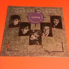 DURAN DURAN MIXING ITALY 12 SINGLE EP SEALED 1985 RARE W/ POSTER PHOTOS RARE