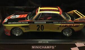 MINICHAMPS BMW 3.0 CSL NORISRING TROPHY  1974  - BNIB 1/18  1 OF ONLY 350 W/WIDE
