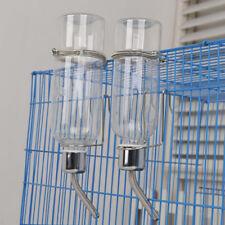180/350ml Botella de Agua Mascota Alimentador Bebedero Colgante Para Conejos Hamster