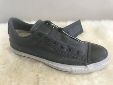NEW CONVERSE X JOHN VARVATOS ALL STAR BURNISHED CANVAS SLIP ON SHOES US 6
