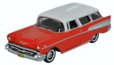 HO Scale Chevrolet Nomad - Red/White