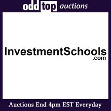 InvestmentSchools.com - Premium Domain Name For Sale, Dynadot