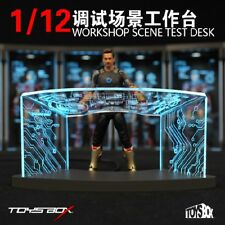 Toys-Box Comicave SHF Workshop Display Work Desk Cable F 1/12 Iroman Figure
