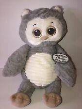 Bearington Baby Collection Gray Owl Stuffed Plush Animal