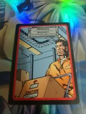 1998 Jim Lee's C-23 Collectible Card Game Armory #156 0c3