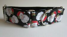 Christmas Martingale Collar, 2 inch (5 cm) wide for greyhounds
