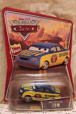RACE OFFICIAL TOM Disney Pixar Cars Piston Cup 1:55 Wal-Mart World of NEW