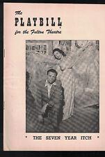 The Seven Year Itch Playbill November 16 1953 Tom Ewell Paulette Girard