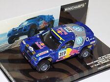 1/43 Minichamps Volkswagen Race Touareg #317 Bercelona Dakar 2005 436 055317