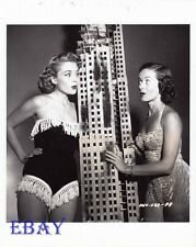 Peggy Castle sexy, Noel Neill Photo from Original Negative Invasion U.S.A.