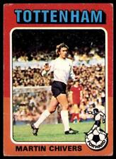 Topps Foootball 1975 Red/Grey (B2) Martin Chivers Tottenham Hotspur No. 56