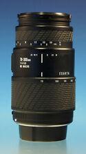 Exakta 70-300/4-5.6 MC Macro für Canon EOS ANALOG  Objektiv Lens - (30127)