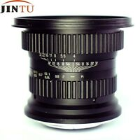 Jintu 15mm f/4.0 Fisheye Lens Ultra-Wide Lens for Canon EF Mount DSLR Camera New
