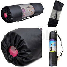 Yoga Pilates Mat Mattress Case Bag Gym Fitness Exercise Workout Carrier 70cm HM