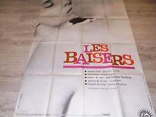 LES BAISERS ! affiche cinema  1964