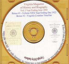 Virginia Magazine of History & Biography- Volume 1 1894
