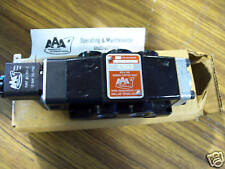 AAA PRODUCTS NEW 24vdc ESO3 SOLENOID 2 POSITION VALVE