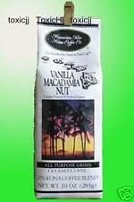 Hawaiian Isle Kona Coffee 10oz VANILLA MACADAMIA NUT