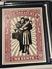 OEBY Giant PROUD PARENTS Shepard Fairey 2007 Rare Art Print No Reserve Listing