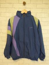 Vintage Shell Suit Jacket Top Festival Tracksuit Windbreaker 80s/90s Large B3063