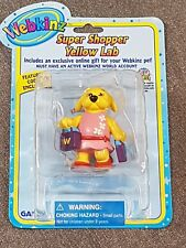 Webkinz Super Shopper Yellow Lab with Feature code