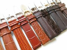 leather watch bands New ! Lot of 18 mm Brown shades