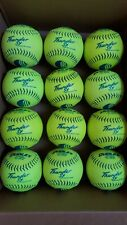 New listing 12 Lightly Used Game Soft Balls Dudley Usssa Thunder Sy Classic M Slow Pitch