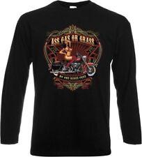 Harley-Davidson bequem sitzende Langarm Herren-T-Shirts