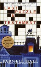 BUY 2 GET 1  Last Puzzle and Testament Bk. 2 by Parnell Hall (2001, Paperback)