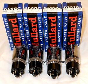 Mullard Platinum Matched QUAD 6L6 6L6GC Tubes