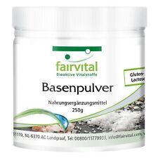Basenpulver 250 g basische Mineralstoffe, Säure-Basen-Haushalt, VEGAN, fairvital