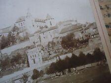 SEINE ET MARNE  RARE PHOTO ALBUMINE CHATEAU DE FONTAINEBLEAU  1890